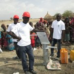 Réalisation de forage dans la communauté de Rat-Salamat