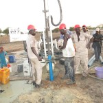 Completion of drilling in the community of Rat-Salamat
